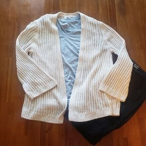 Old Navy Cream Knit Sweater